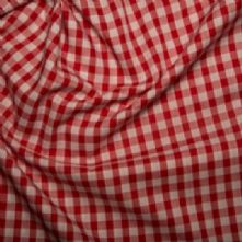 Red Gingham 1/4